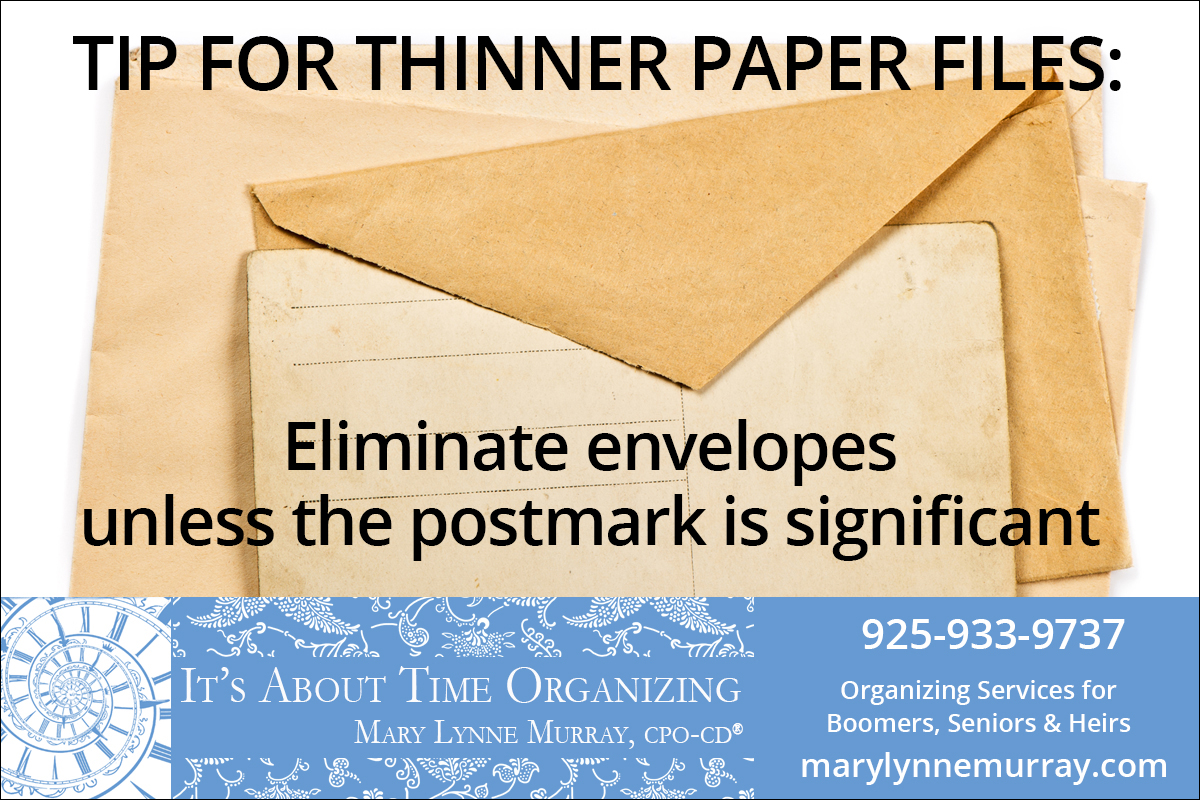 Group of paper manila envelopes