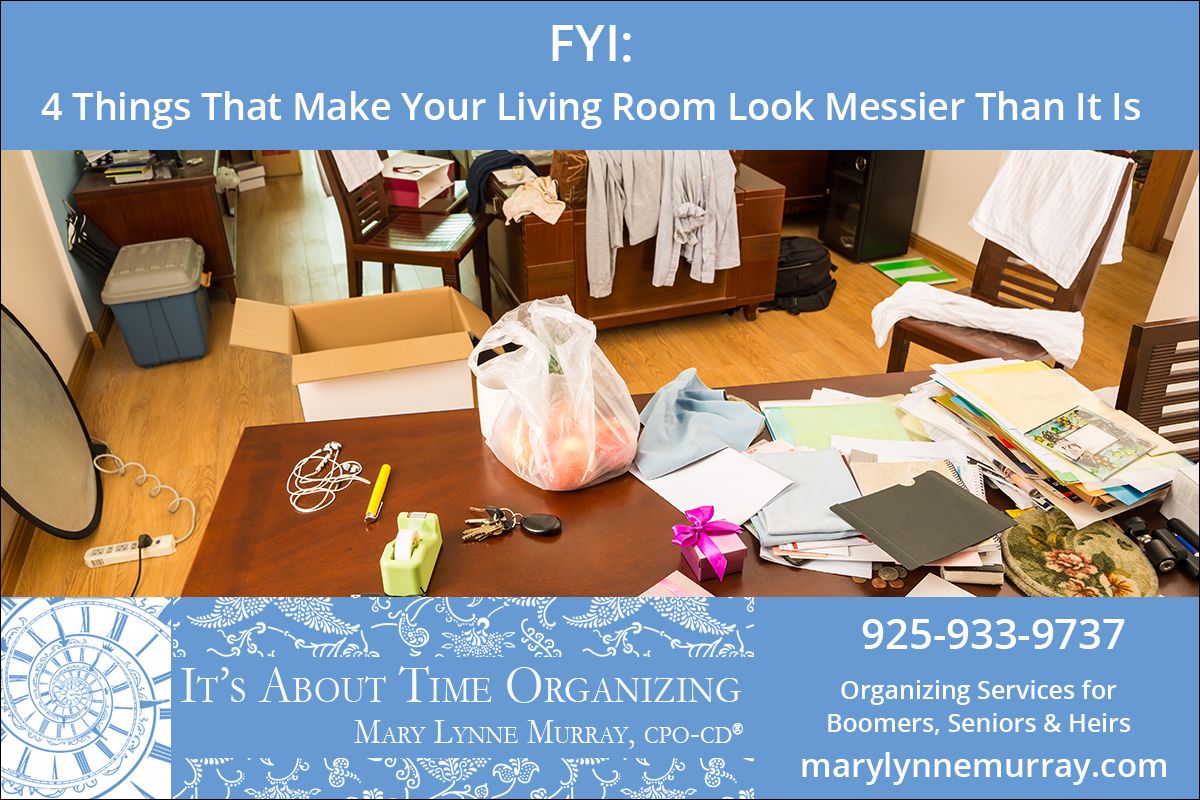 4 Things That Make Your Living Room Look Messier Than It Is